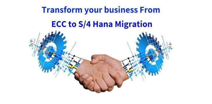ECC TO S/4HANA migration