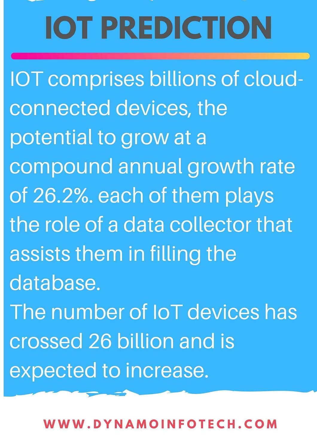 Iot technological prediction for the year 2020