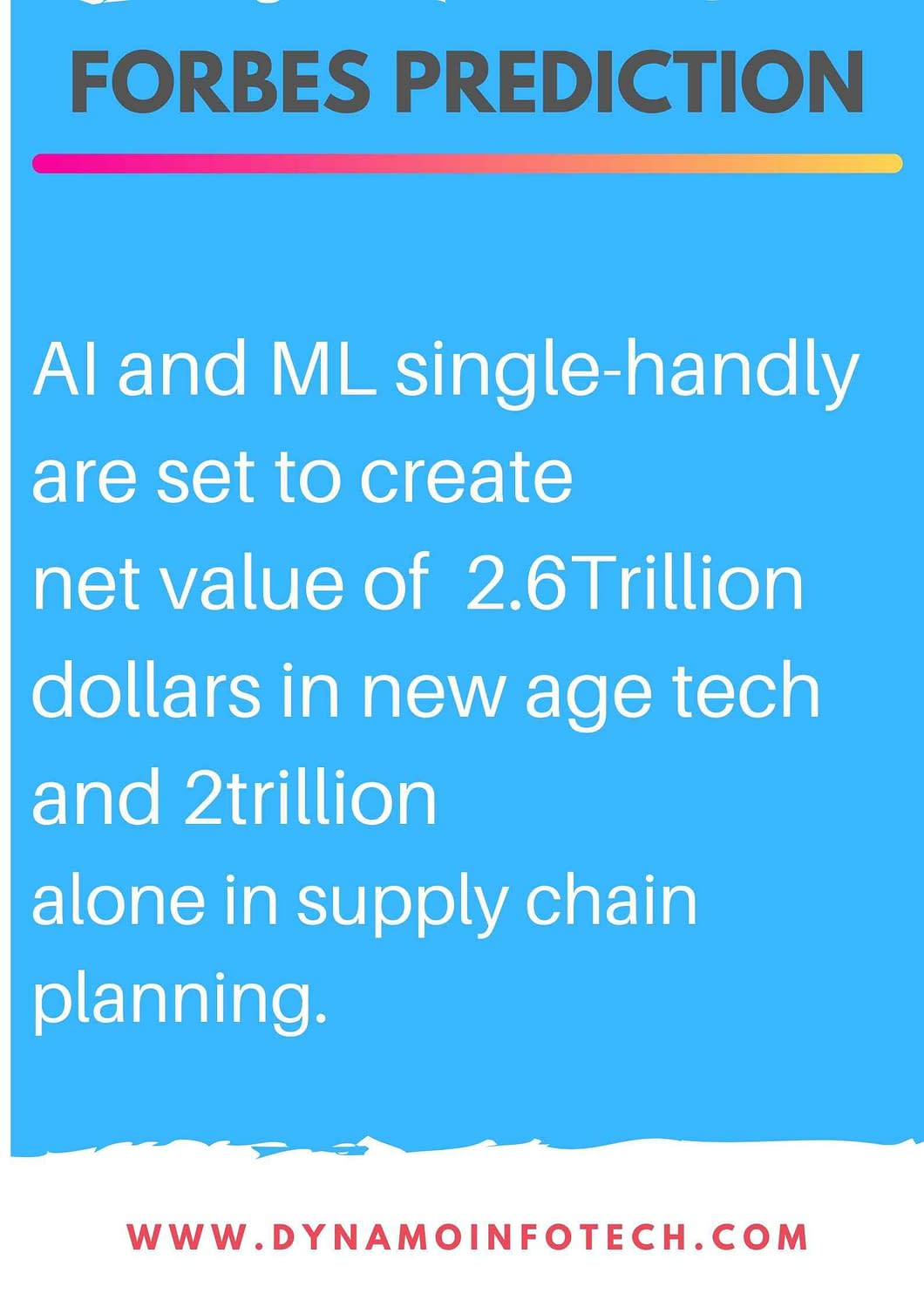 forbes prediction on machine learning and artificial intelligence for the year 2020